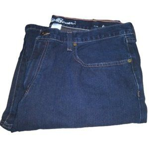 Eddie Bauer Men's Relaxed Fit 38x34 Drk Blue Jeans